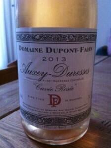 Rosé Auxey-Duresses Dupont-Fahn