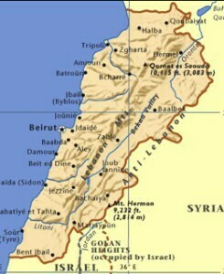 libanon_map