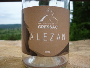 Alezan label